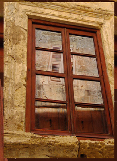 Galerie de la fen tre bois for Singuila en bas de ma fenetre